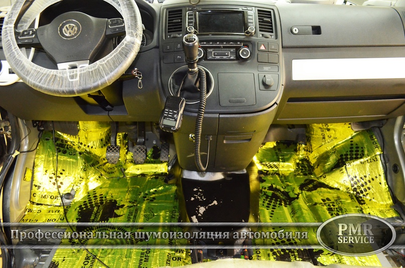 Шумоизоляция Volkswagen Multivan, изображение №13