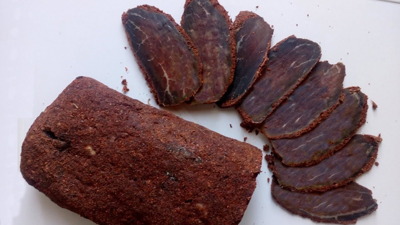 Бастурма армянская классическая из говядины Հայկական բաստուրմա