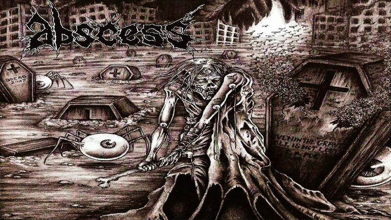 ABSCESS Horrorhammer Full length Album Death Metal