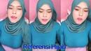 Tante Live Baju Biru Ketat Besar Hijab 2020