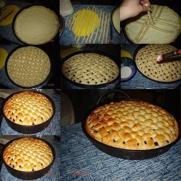 Овсяный пирог с бананами и черникой — 120...