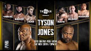 MIKE TYSON VS ROY JONES JR. PREDICTION EA UFC4.
