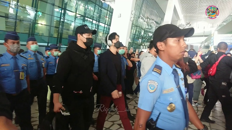 200307 Super Junior Siwon at CGK Airport
