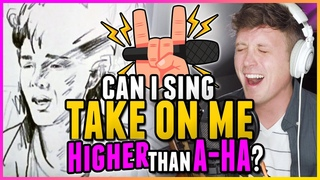 """HIGH NOTE CHALLENGE: Can I Sing """"Take On Me"""" HIGHER Than A-ha?"""