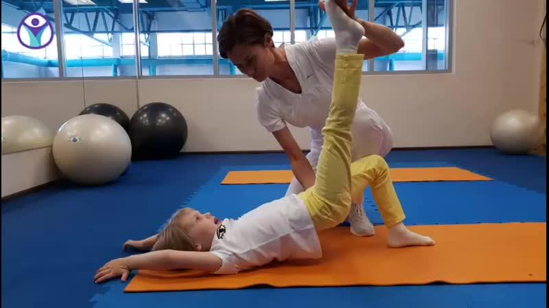 занятия адаптивной гимнастики в ИФР