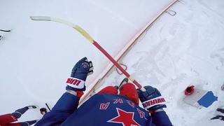 Хоккей с мячом глазами Дмитрия Саморукова и Артура Джилавяна