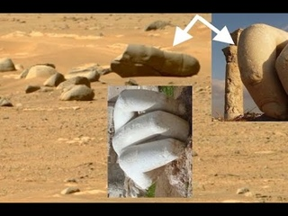 Something just doesn't LOOK right here! Signs of Ancient GREECE on surface of MARS?