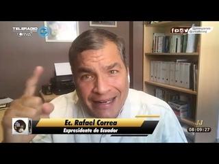 Rafael Correa: Si las elecciones en Ecuador fueran hoy, ganamos en una sola vuelta