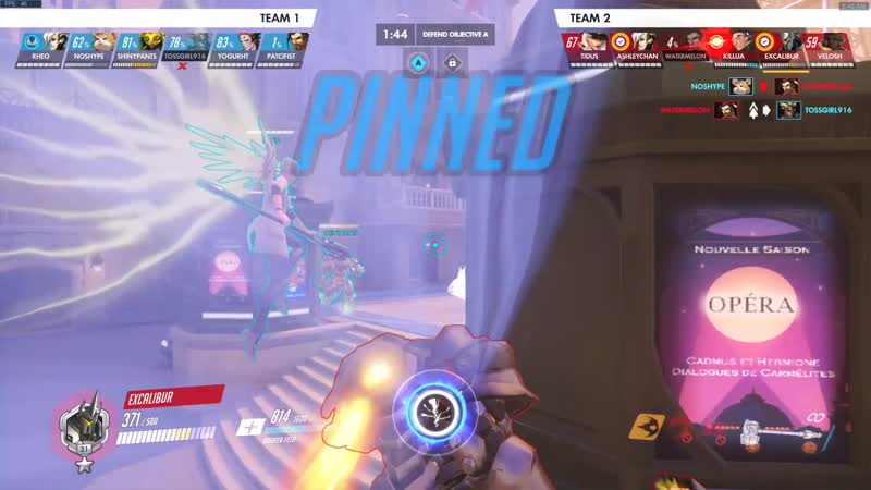 Rein's Graviton Surge Someone Please Explain This Hitbox Detection D