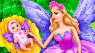11 идей для Барби бабочки и ее малышки