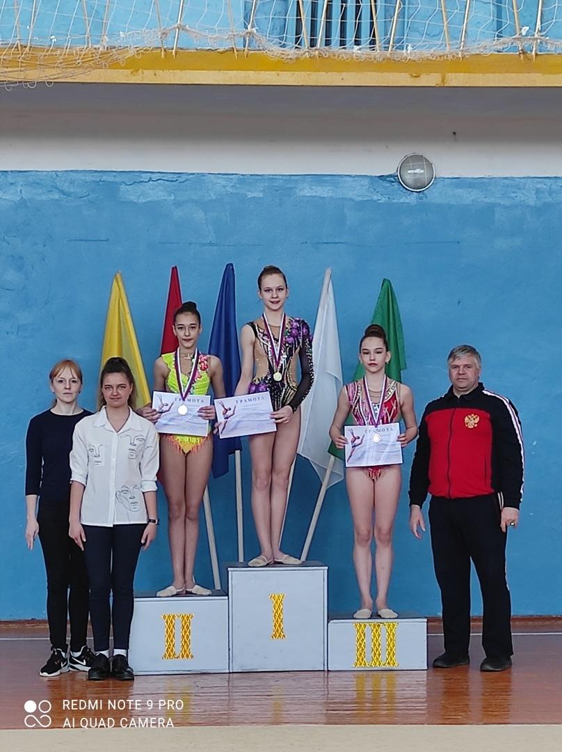 В Петровске состоялись соревнования по художественной гимнастике «Весенняя грация»