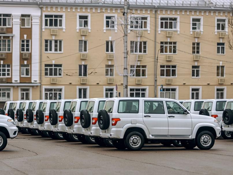 🔥Районные больницы получили 27 новых автомобилей УАЗ Патриот для транспортировки больных.