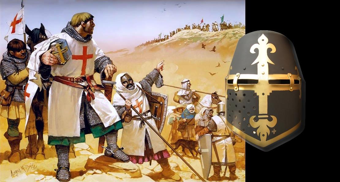 Встреча рыцарей с сарацинами