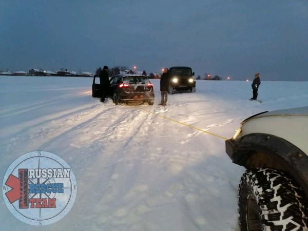 Вытащить машину из снега помощь Домодедово