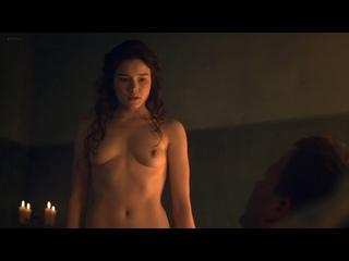 "Ханна Мэнган-Лоренс (Hanna Mangan-Lawrence nude scenes in ""Spartacus: Blood and Sand"" s02e07 2012)"
