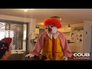 Ronald McDonald hates Subway