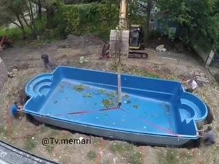 Установка небольшого бассейна на заднем дворе ecnfyjdrf yt,jkmijuj ,fcctqyf yf pflytv ldjht