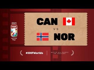 ЧМ-2021. Группа В. 4-й тур. Канада — Норвегия — 4:2