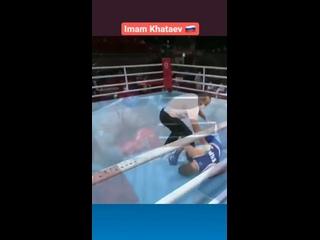 📌🎬 Жёсткий нокаут от Имама Хатаева🇷🇺 в четвертьфинале Олимпиады в Токио