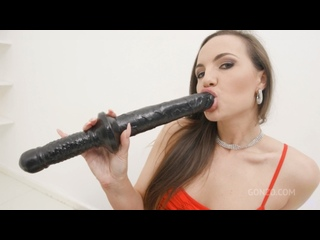 Kristy Black (Kristy 6on1 double anal gangbang and piss drinking SZ2761) [2021, Anal, Big Butt, Curvy, Piss, Wide Hips, 1080p]