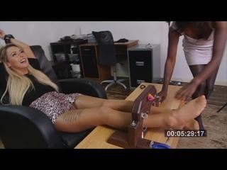 UKTickling – Violet Gives Lauren A Merciless Tickling Forfeit!