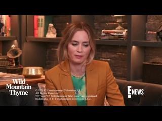 Эмили Блант и Джейми Дорнан для «E-News»