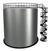 Резервуар вертикальный стальной РВС 300 м3