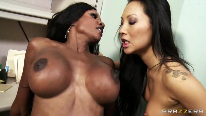 Asa Akira   Diamond Jackson   Keiran Lee   brazzers porn   Asian   Big Tits   Bieber Blowjob creampie anal black interracial