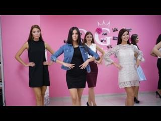 Мисс Максимилианс репетиция в модельном агентстве Oga models