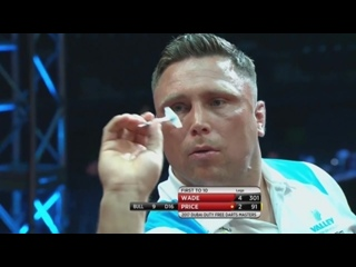 James Wade vs Gerwyn Price (Dubai Duty Free Darts Masters 2017 / Quarter Final)