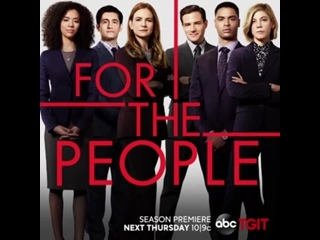 Your new favorite legal obsession starts in just ONE WEEK! #ForThePeople joins #GreysAnatomy and #Station19 next Thursday night.