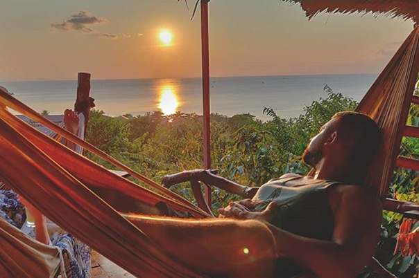 Ромин Нуро: Sunset vibes... #kohphangan #sunset #picoftheday #vacation