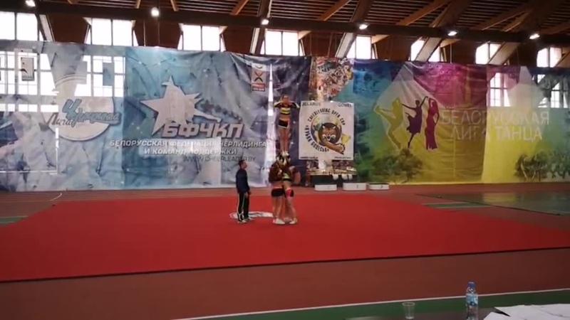 Кубок Полесья 2019 adult group stunt all dirl
