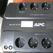 ИБП APC Back-UPS ES BE700G-RS