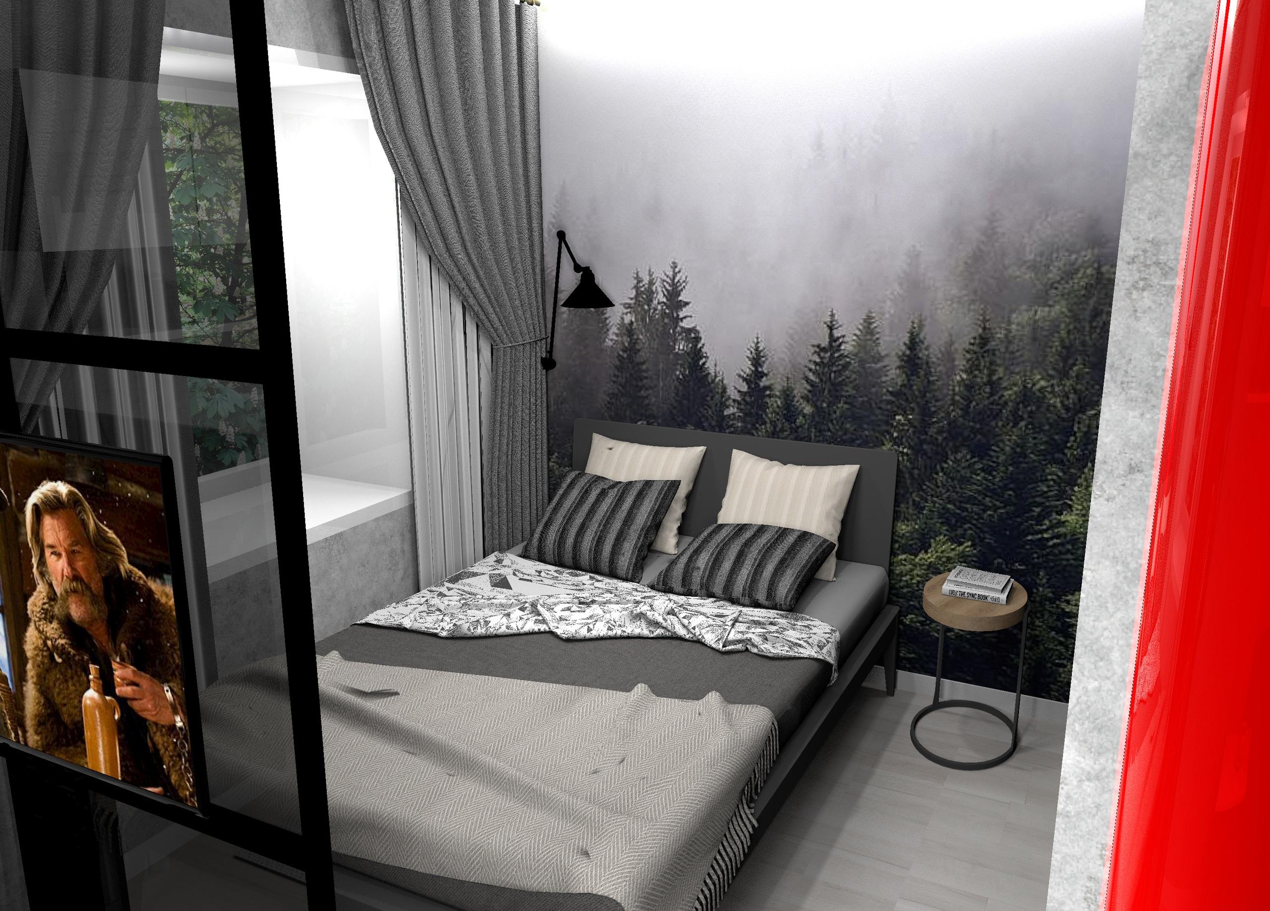 Реконструкция комнаты в общежитии в квартиру студию 21.