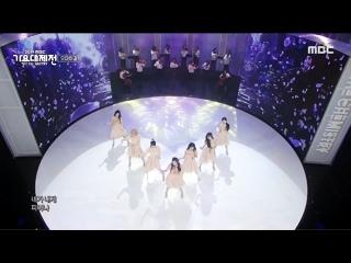 "· Perfomance · 191231 · OH MY GIRL - ""The Fifth Season"" · MBC ""Gayo Daejejeon"" 2019 ·"
