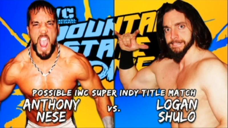 Logan Shulo Elias WWE vs Tony Nese IWC Mountain State Madness 5 2013
