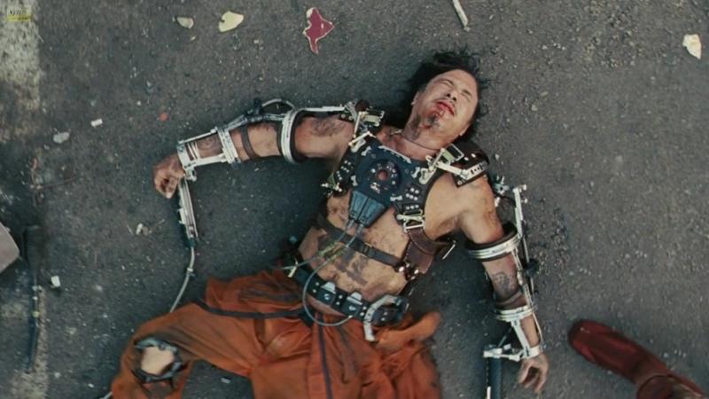 Нападение на Старка Железный человек 2 Iron Man 2 2010 Фрагмент из фильма