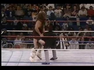 WWF Berzerker 3 Piledrivers on Undertaker.Берсеркер 3 повелдрайвера Андертейкеру.11DeadFace