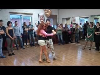 Презентационный танец bachata от Тимура Мамажанова и Маргариты Голик