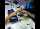 💜 процесс наращивания ногтей акрилом
