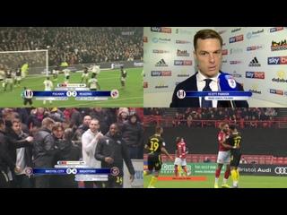 «Фулхэм» 1:2 «Рединг» и «Брентфорд» 4:0 «Бристоль Сити». Обзоры матчей