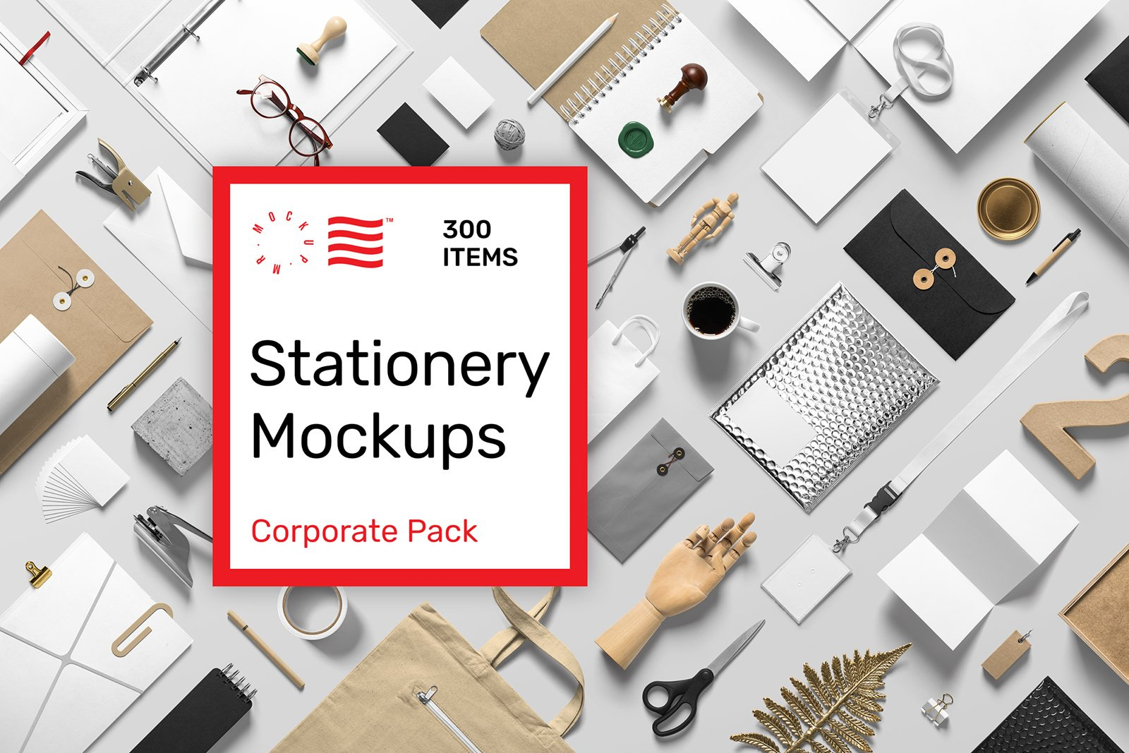 Corporate Stationery Mockups Pack