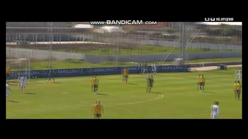 01 03 2016 г Иртыш Хорсенс Дания гол Сержа Бандо Нганбе