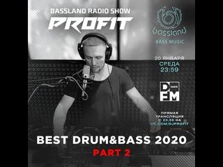 Bassland Show @ DFM () - Best DrumBass 2020. Part 2