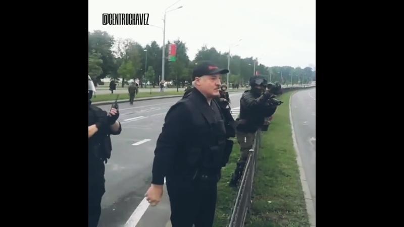 CCHTV Лукашенко прибыл в свою Резиденцию 23 08 2020