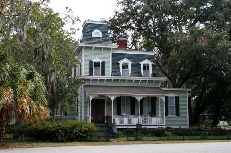 Второй дом в стиле ампир в Джорджии, построенный между 1875 и 1884 годами.