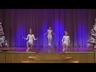 "Балетная студия ""Фуэте"" - Танец со скакалками"