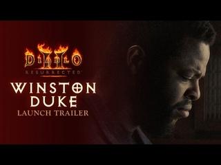 Релизный трейлер Diablo 2 Resurrected с участием актера Уинстона Дьюка из Черной пантеры