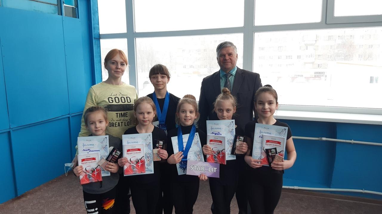Петровские гимнастки — призёры соревнований «Шаги к успеху»